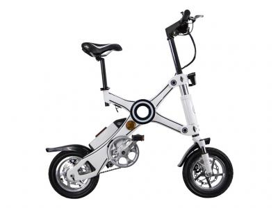 iBike X  White Edition - Vélo compact & pliant